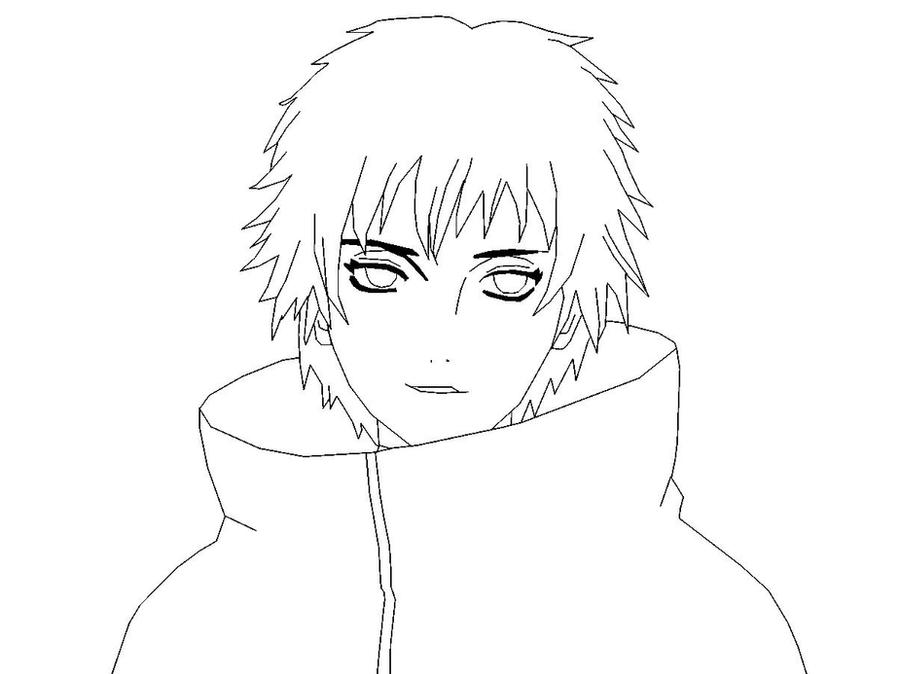 Sasori Pages Coloring Pages