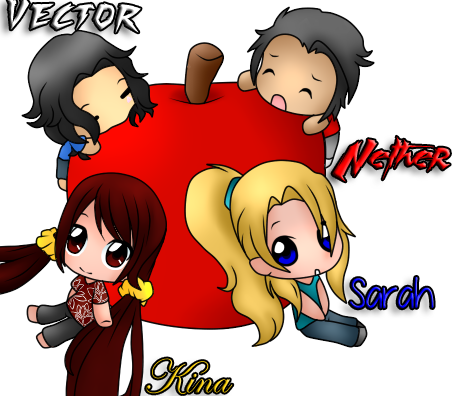 Chibi Crack-Shipping (With Nether and Sarah!) by xxEndlessSummerxx