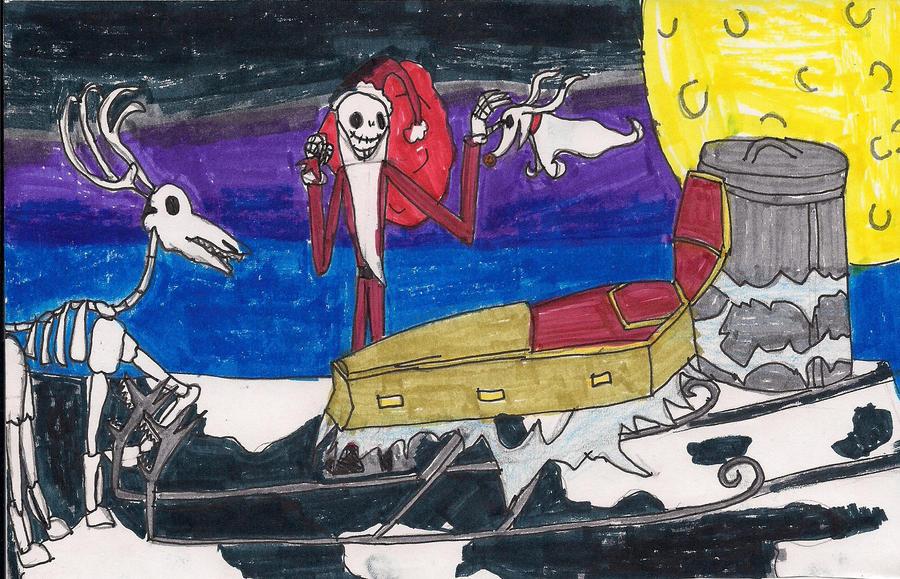 Jack Skellington's coffin sleigh by digirobotphantom10 on ...