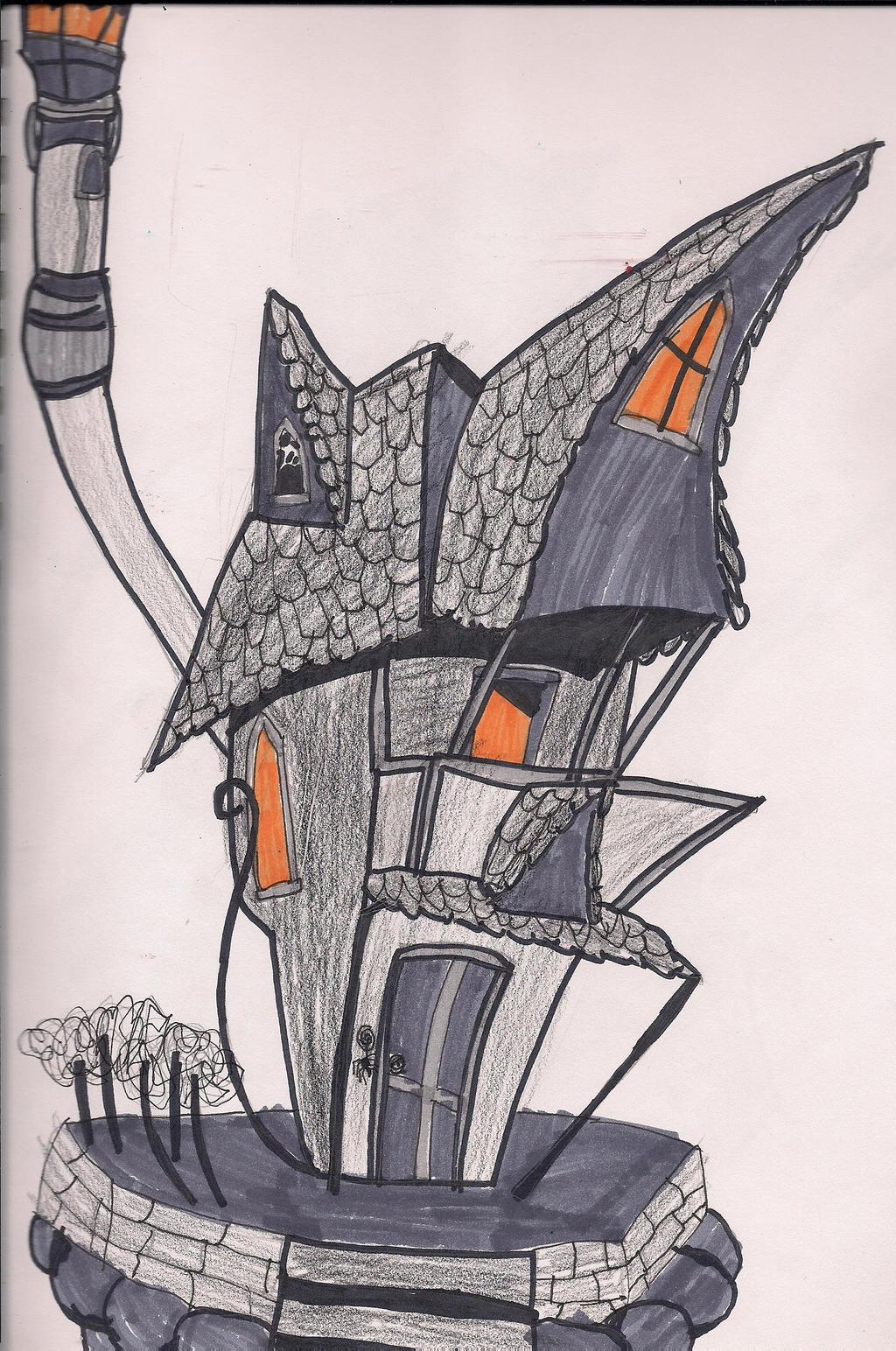 Jack Skellington's house by digirobotphantom10 on DeviantArt