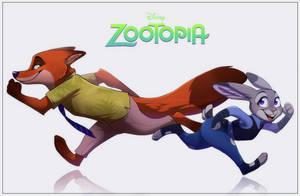 Fanart : Zootopia by FeysCat
