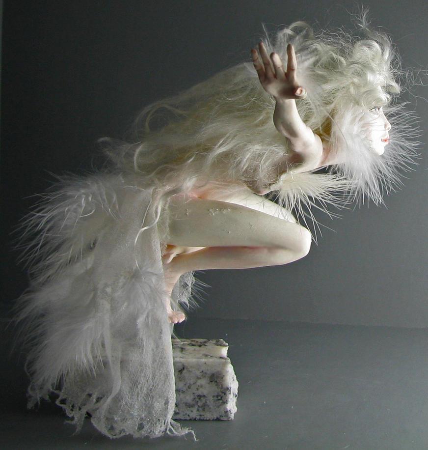 La plume blanche by artofelysee on deviantart - Guirlande plume blanche ...