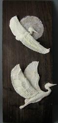 Herons by ArtOfElysee