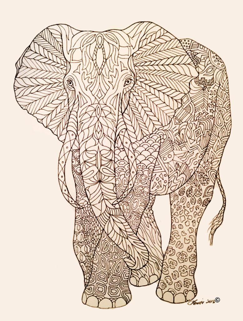 Elephant by ArtOfElysee