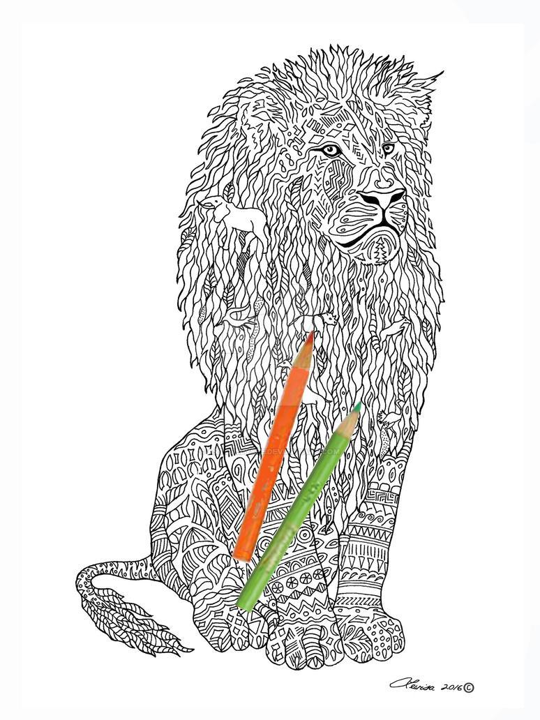 Lion-Cecil by ArtOfElysee