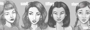 daria fan art : fashion club by AmySake