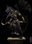 Anubis, guardian of the underworld by Per-Netjeru