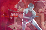Ada Wong Woman In Red Wallpaper