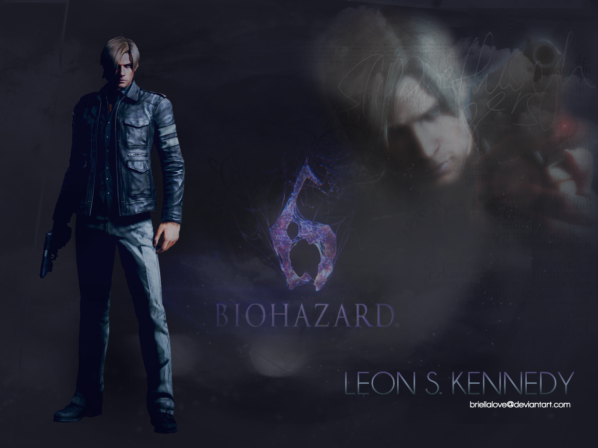 leon kennedy re6 wallp...