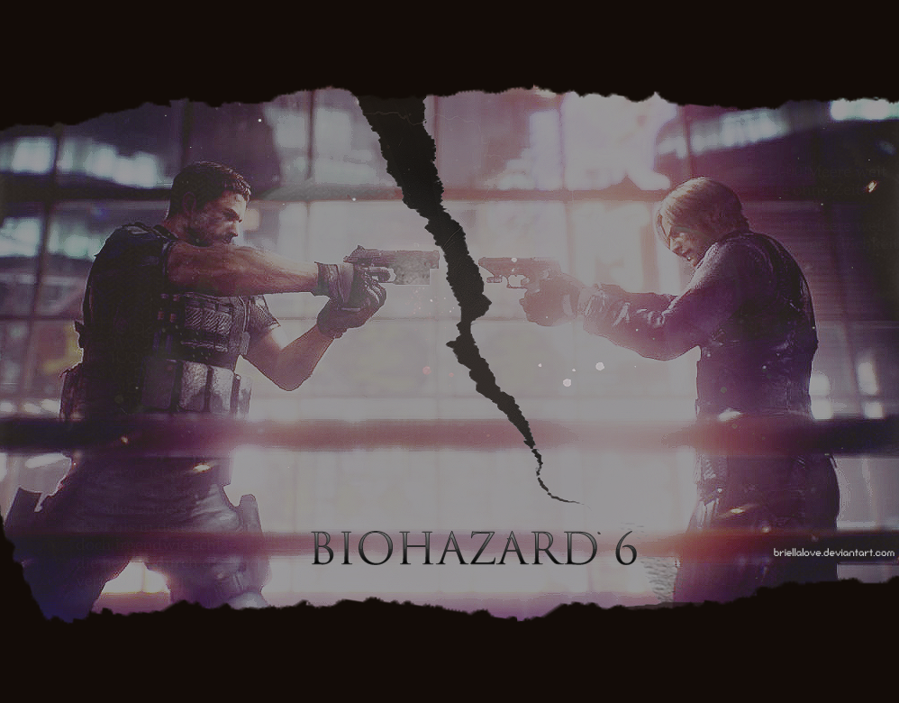 Resident Evil 6 Chris Vs Leon Wallpaper By Briellalove On Deviantart