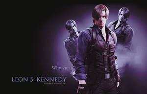 Leon S. Kennedy RE6 Wallpaper by BriellaLove
