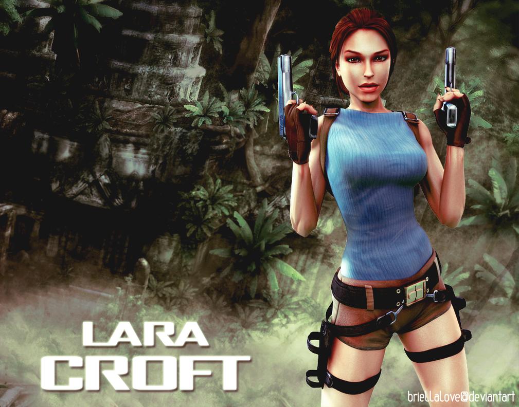 Lara Croft Tomb Raider Anniversary Wallpaper By BriellaLove