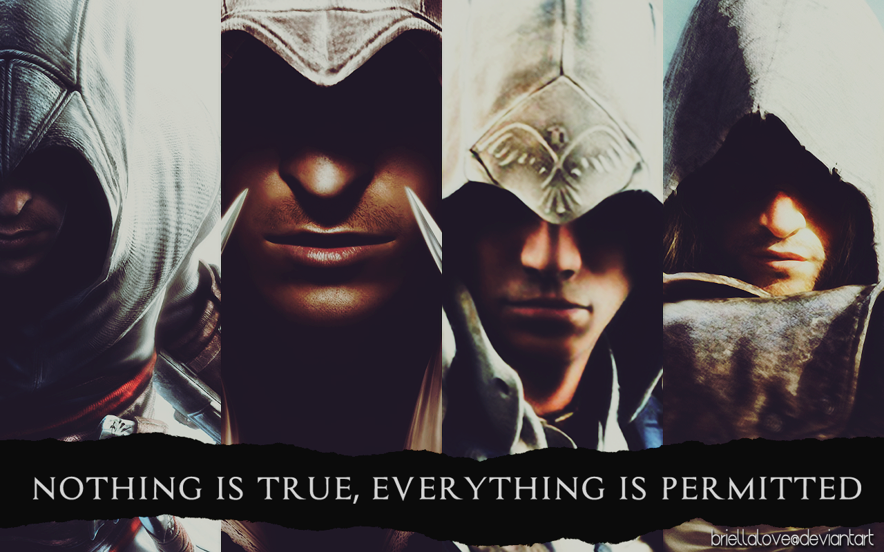 Assassins creed wallpaper nothing is true assassins creed wallpaper by briellalove on deviantart assassins creed wallpaper nothing is true voltagebd Gallery