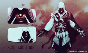 Ezio Auditore Wallpaper by BriellaLove