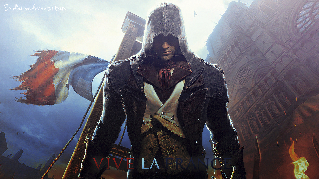Assassin 39 s creed unity wallpaper by briellalove on deviantart - Assassin s creed unity wallpaper ...
