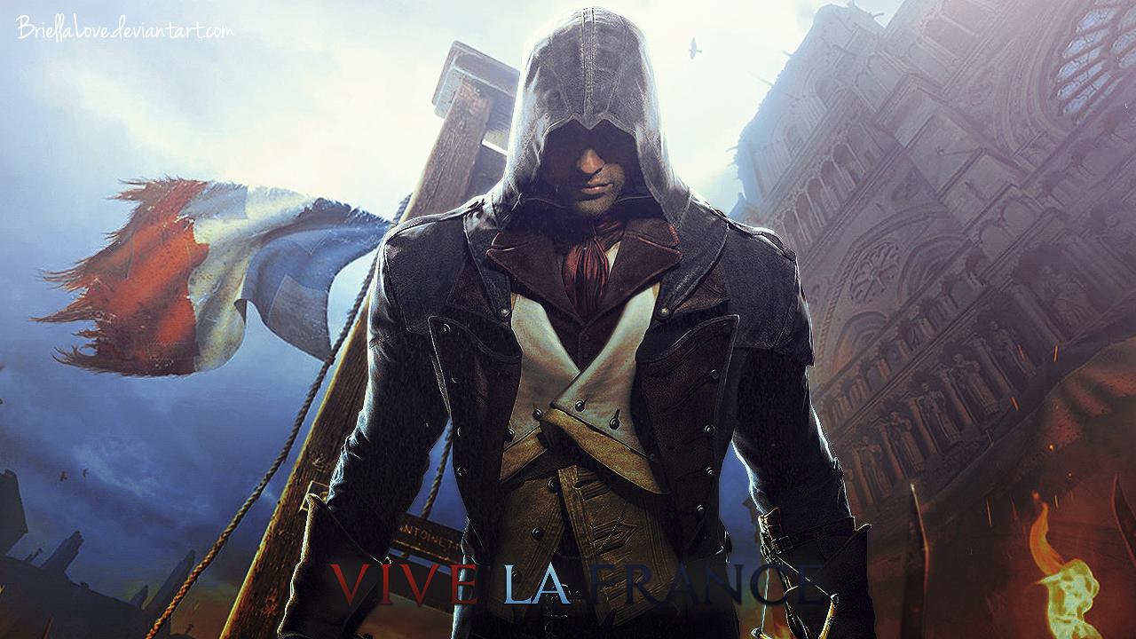 Assassin S Creed Unity Wallpaper By Briellalove On Deviantart