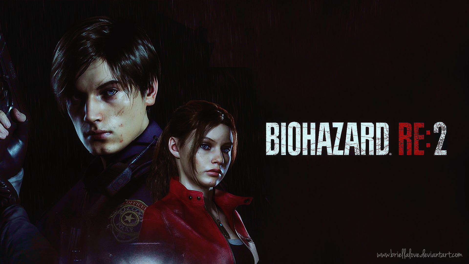 Resident Evil 2 Remake Wallpaper Hd By Briellalove On Deviantart