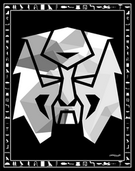 Leam Emblem Black