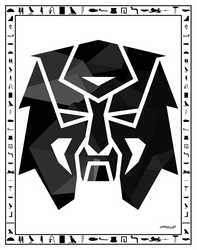 Leam Emblem White