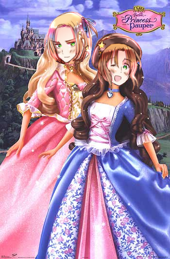 Aph Barbie As The Princess And The Pauper By Katechi On As The Princess And