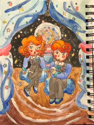 Gerally! The Luminous Students! by MirabelleLeaf31