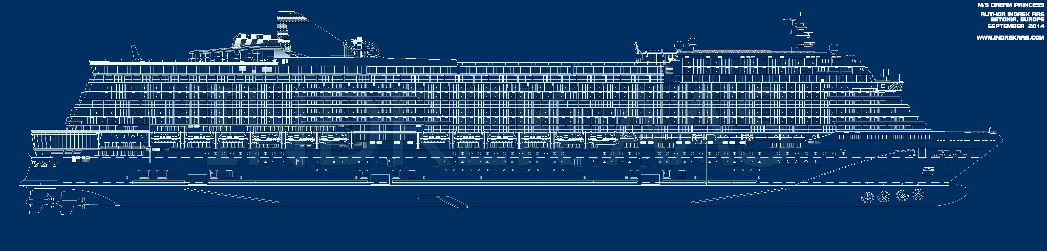 Cruise Ship Blueprints : Cruise ship blueprint by jjouuu on deviantart