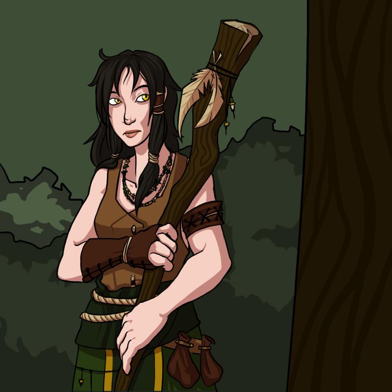 The Druid by Tspuun