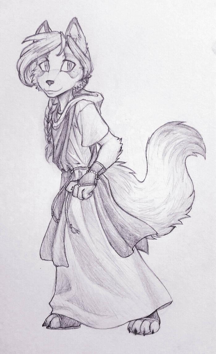 Aleena Pencil by Tspuun
