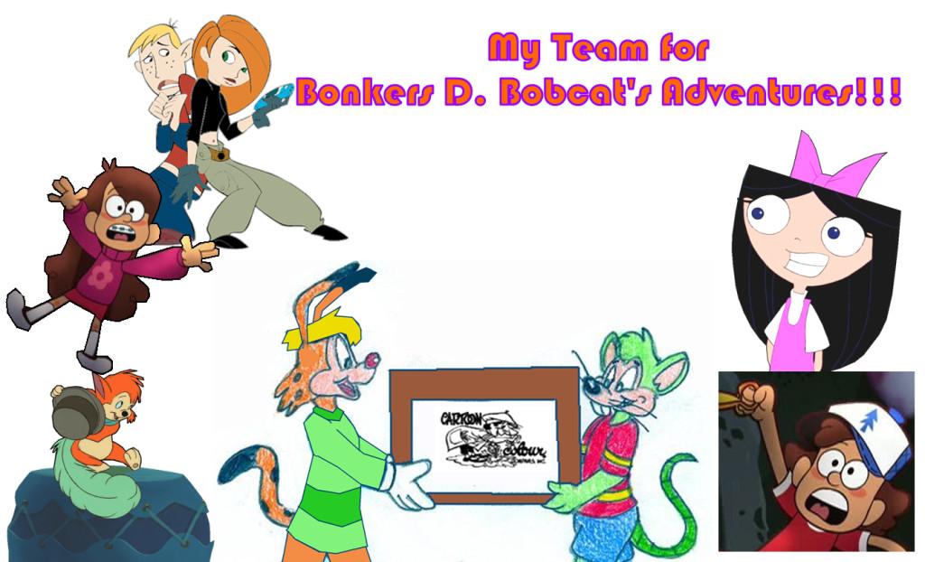 Michael's Adventures Team by BancyToonGeek1994 on DeviantArt