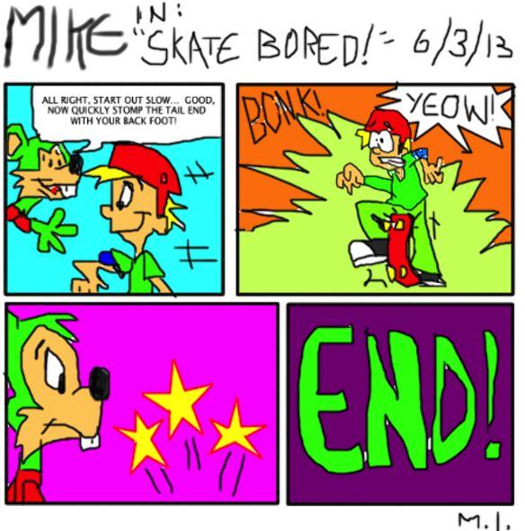 skateboarding comic strips