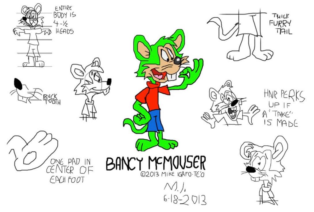 Bancy McMouser - Chuck Jones-Style Model Sheet by ...