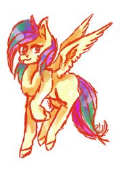 Unnamed Pony of Ponydom by LillianInk