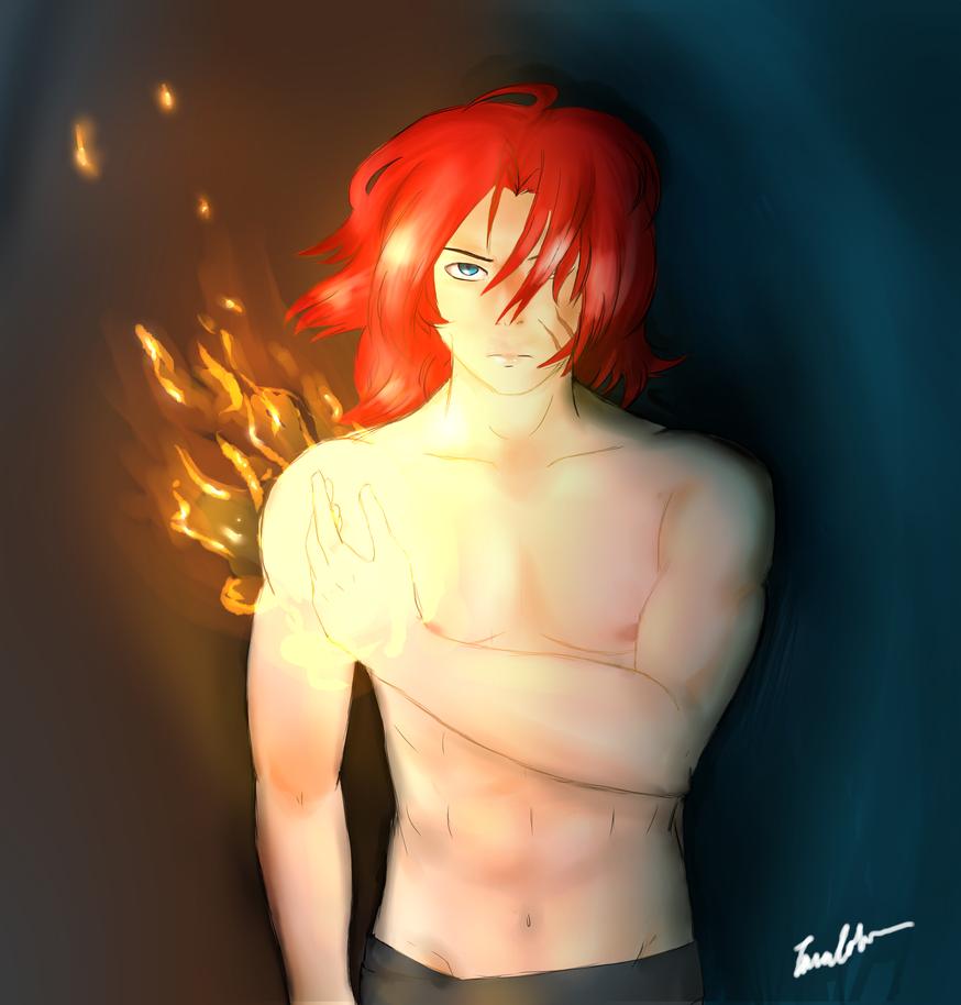 Fire Dancer by JustSomeRandomKidLol