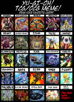 Yu-Gi-Oh Favorite Card Meme by Madcatmk6