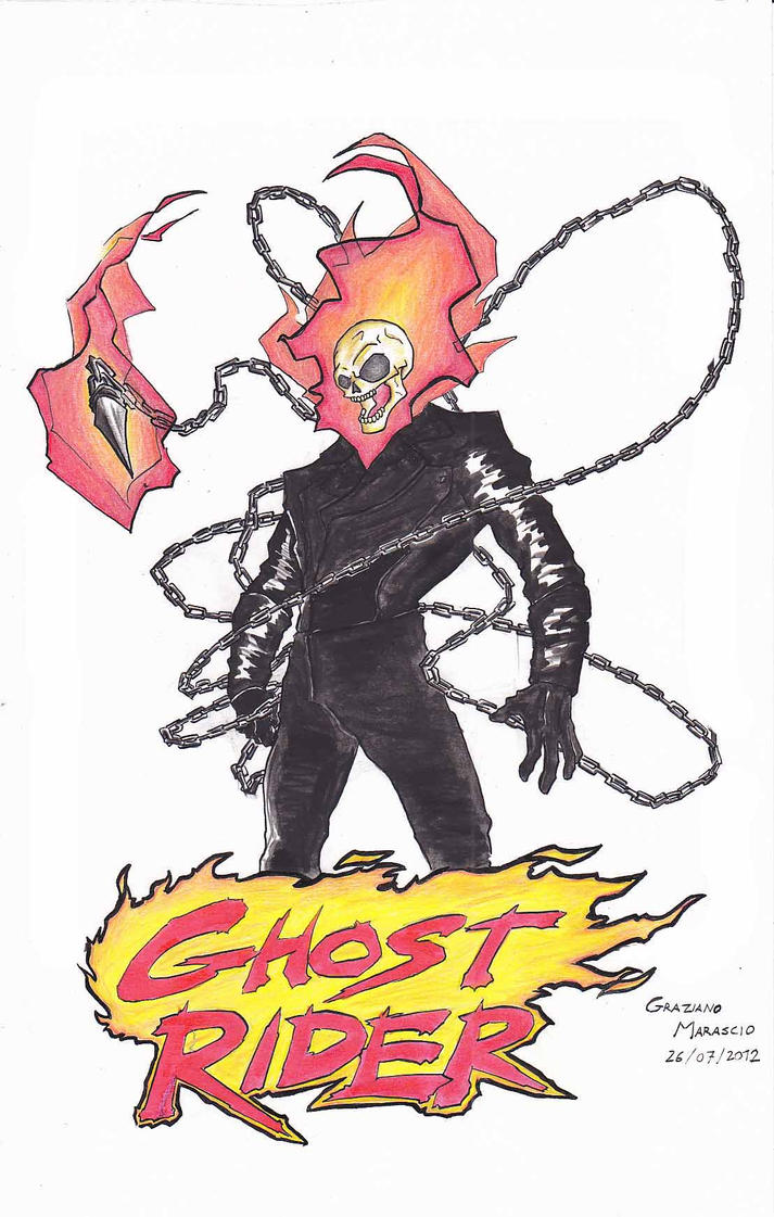 Ghost Rider by Graz92