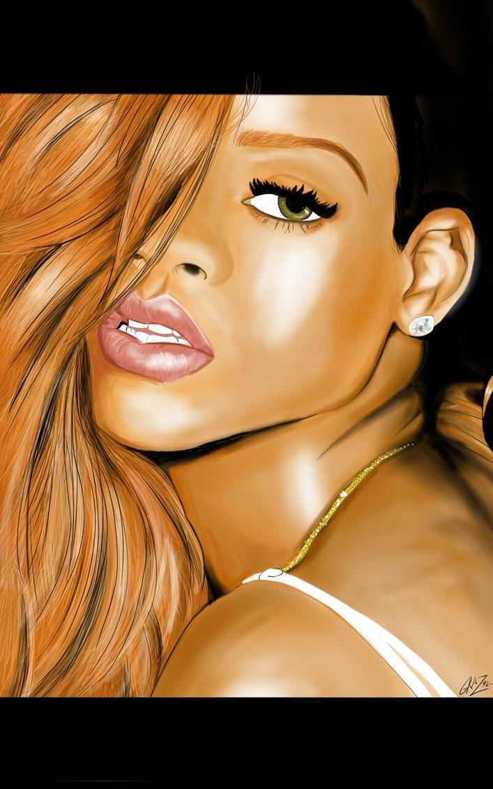 Rihanna by Graz92