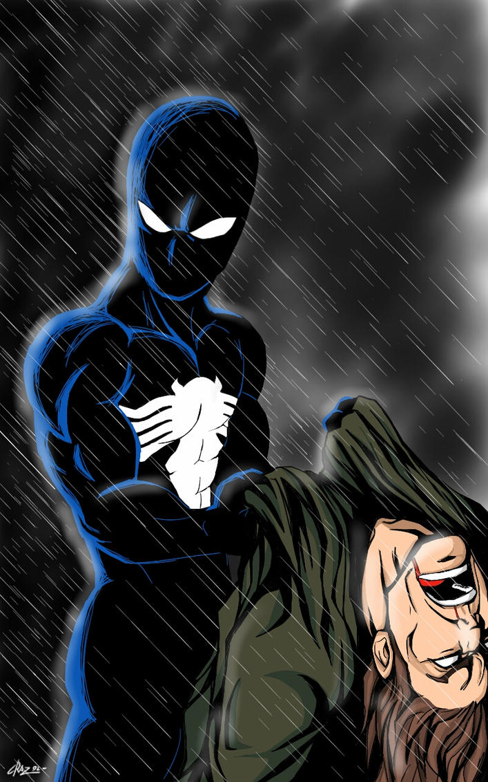 black spidey by Graz92