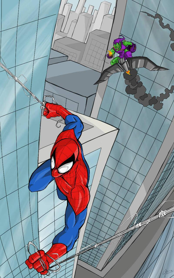 Spiderman by Graz92