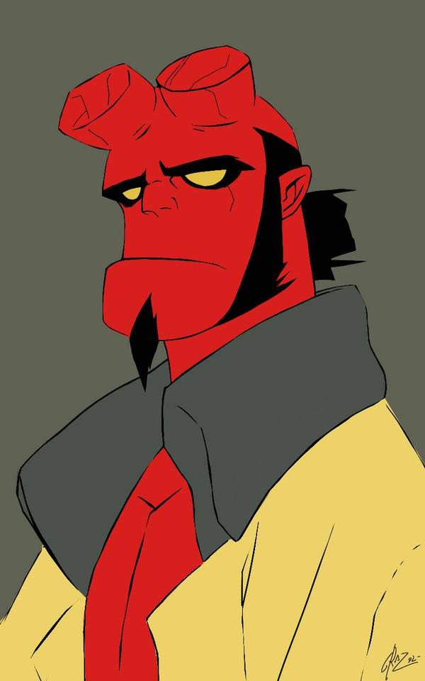 Hellboy by Graz92