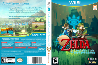 Zelda Wii U Box by angeloops