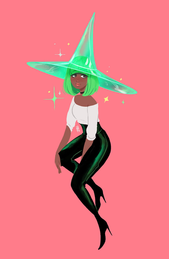 Neonwitch by fydraws