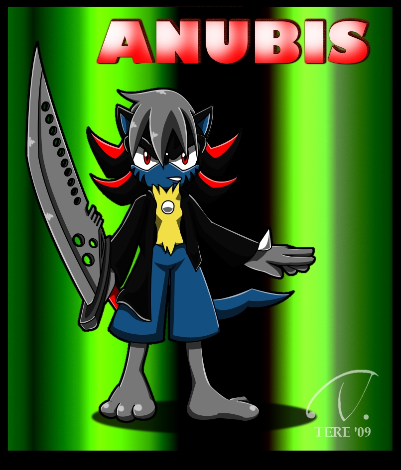 Anubis the Lucario :Gift: by tsukichire on DeviantArt
