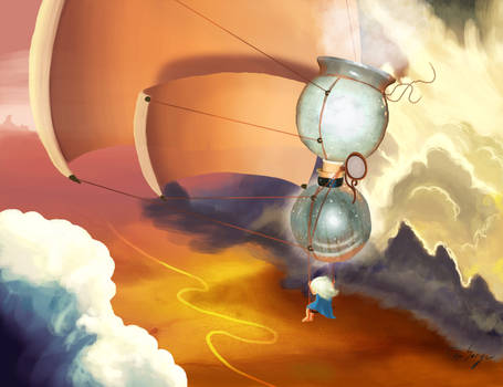 La creatrice de nuage  Art Challenge Disney 2014
