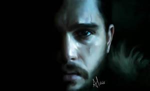 Jon Snow by TheSeryne