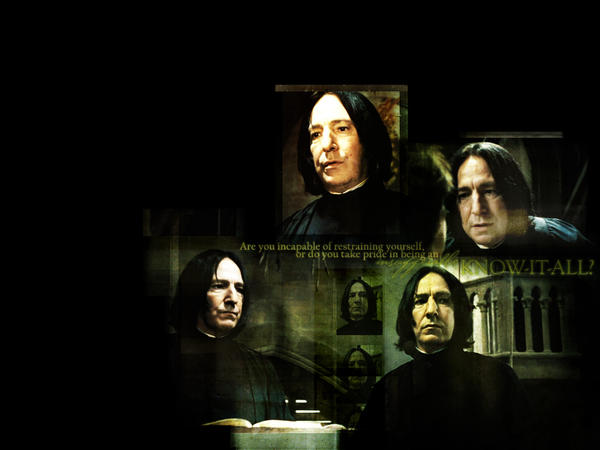Severus Wallpaper by Severus-Snape-Club