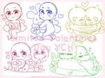(CLOSED)Valentines Day YCH Set Price