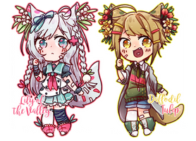 [CollabAdopt]  Flaurist Batch 1 Auction (CLOSED) by Maymorin