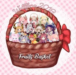 [GA] Preview: Wallflora CS: Fruits basket 2019 by Maymorin