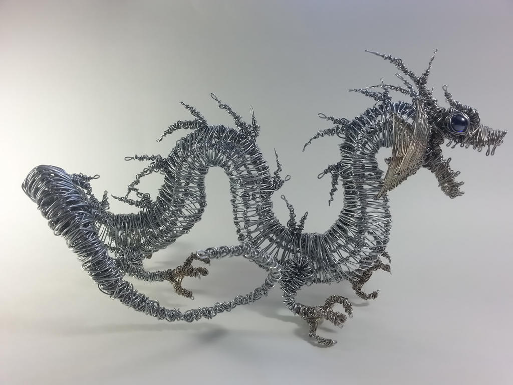 Wire Chinese Dragon by Mike-Perrotta on DeviantArt