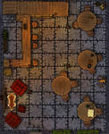 Dungeons and Dragons - Tiled Tavern Map